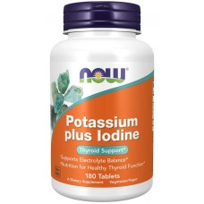 Potassium plus Iodide - Now Foods